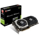 MSI Video Card GeForce GTX 1070 QUICK SILVER GDDR5 8GB/256bit GDDR5 8GB/256bit, 1582MHz/8008MHz, PCI-E 3.0 x16, 3xDP, HDMI, DVI-D, Twin Frozr VI Cooler LED(Double Slot), Backplate, Retail