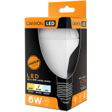 CANYON R63E27FR6W230VN LED lamp, R63 shape, E27, 6W, 220-240V, 120°, 517 lm, 4000K, Ra>80, 50000 h