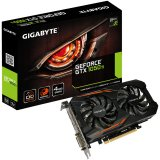 GIGABYTE Video Card GeForce GTX 1050 Ti OC GDDR5 4GB/128bit, 1316MHz/7008MHz, PCI-E 3.0 x16, HDMI, DVI-D, DP, WINDFORCE 2X Cooler (Double Slot), Retail