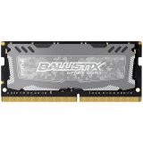 Crucial DRAM 16GB DDR4 2400 MT/s (PC4-19200) CL16 DR x8 Unbuffered SODIMM 260pin Ballistix Sport LT DDR 4 SODIMM - Grey, EAN: 649528777065