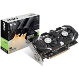 MSI Video Card GeForce GTX 1050 Ti OC GDDR5 4GB/128bit, 1341MHz/7008MHz, PCI-E 3.0 x16, DP, HDMI, DVI-D, Sleeve 2X Fan Cooler (Double Slot), Retail