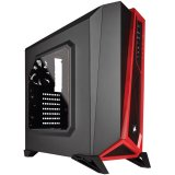 Corsair Carbide Series SPEC-ALPHA Mid-Tower Gaming Case — Black/Red