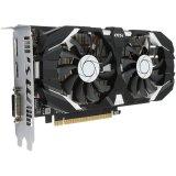 MSI Video Card GeForce GTX 1050 OC GDDR5 2GB/128bit, 1404MHz/7008MHz, PCI-E 3.0 x16, DP, HDMI, DVI-D, Sleeve 2X Fan Cooler (Double Slot), Retail