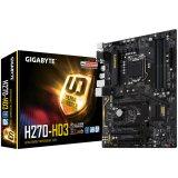 GIGABYTE Main Board Desktop INTEL H270 (Socket LGA1151, 4xDDR4, HDMI/DVI-D/VGA, 1xPCIEX16/2xPCIEX4/2xPCIEX1/1xPCI, USB3.1/USB2.0, 6xSATAIII/1xSATAExpress/M.2Socket3/RAID, LAN) ATX Retail