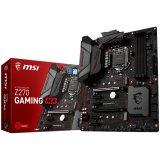 MSI Main Board Desktop Z270 ( S1151,4xDDR4,2xPCIe 3.0x16, 4x PCIe 3.0x1, 2x M.2, Killer E2500 GLAN, 6x SATA3, DVI,HDMI )