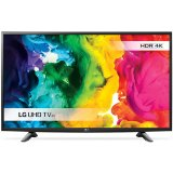 LG TV LED 49''(125cm) ,4K Ulta HD(3840x2160) , Smart TV webOS 3.0 Quad-Core, 1200PMI, WLAN, HDMIx3 , USB 2.0 x2, DVB-T2,C,S,S2, 20W, Silver...