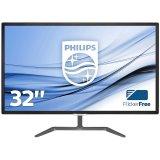 Monitor LED Philips 323E7QDAB/00, E-line, 31.5' 1920x1080@60Hz, 16:9, IPS, 5ms, 250nits, Black, 2 Years, VESA100x100/VGA/DVI/HDMI/
