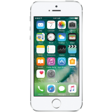 Apple iPhone 5s 16GB Silver (4-inch LED-backlit widescreen Multi-Touch display with IPS technology, Touch ID, 1136x640 at 326 ppi, A7/M7 chip, Apple iOS 9, 8MP iSight, LTE)