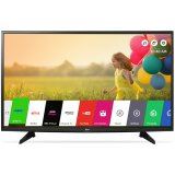 LG TV LED 43''(102cm) ,FullHD (1920x1080), Smart TV webOS 3.0, 1500PMI, WLAN, HDMIx3, USB 2.0 x2, DVB-T2,C,S,S2, 20W, Black, 2Y