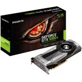 GIGABYTE Video Card GeForce GTX 1080 Ti Founders Edition GDDR5X 11GB/352bit, 1480MHz/10010MHz, PCI-E 3.0 x16, HDMI, 3xDP, Cooler (Double Slot), Retail