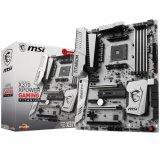 MSI Main Board Desktop X370 (SAM4, 4xDDR4, 3xPCI-Ex16, 3xPCI-Ex1, USB3.1, USB2.0 ,6xSATA III, 2xM.2, U.2, Raid, DP, HDMI, GLAN) ATX Retail