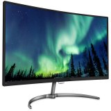 PHILIPS monitor LED 16:9 Full HD curved (1920×1080), 4ms, 250cd/m2, VGA/DP/HDMI, speakers, black