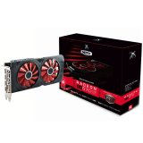 XFX Video Card AMD Radeon RX 570 RS 4GB XXX Ed. OC 1264 Mhz GDDR5 Dual Fan 256 bit 7.0GHz 4096x2160 3X DP HDMI DVI