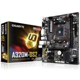 GIGABYTE Main Board Desktop AMD A320 (SAM4, DDR4, LAN, DVI/VGA, USB3.1/USB3.0, SATA III,M.2, LAN) mATX Retail