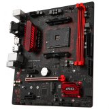 MSI Main Board Desktop A320 (SAM4, 2xDDR4, PCI-Ex16, 2xPCI-Ex1, USB3.1, USB2.0 ,4xSATA III, M.2, Raid, VGA, DVI-D, HDMI, GLAN) mATX Retail