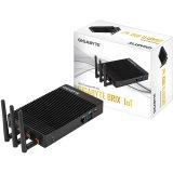 GIGAYBTE BRIX Fanless (Celeron N3450 up to 2.2GHz QC, 2xDDRL (max 8GB), Intel HD500, 1xM.2 PCIE/SATA 80mm, 2x GbE LAN, 2x HDMI, (2+2)xUSB3.0, microSD slot, WiFi+BT, COM, miniPCE for 3G + microSIM slot, audio jack, 2+1 antenna (2xWiFi +2x 3G)
