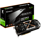 GIGABYTE Video Card GeForce GTX 1070 AORUS GDDR5 8GB/256bit, 1607MHz/8008MHz, PCI-E 3.0 x16, HDMI, DVI-D, 3xDP, WINDFORCE STACK 3X Cooler RGB(Double Slot), Backplate, Retail
