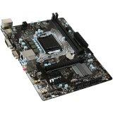 MSI Main Board Desktop H110 (S1151, 2xDDR4, 1xPCIEx16,3xPCI-Ex1, USB3.1,USB2.0, SATA III, DP,DVI-D,VGA, GLAN) mATX Retail