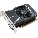 MSI Video Card GeForce GT 1030 OC GDDR5 2GB/64bit, 1265MHz/6008MHz, PCI-E 3.0 x16, HDMI, DVI-D, AERO ITX fan Cooler (Double Slot), Retail