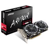 MSI Video Card AMD Radeon RX 470 OC GDDR5 4GB/256bit, 1230/6600MHz, PCI-E 3.0 x16, 3xDP, HDMI, DVI-D, ARMOR 2X Cooler(Double Slot), Retail