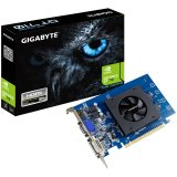 GIGABYTE Video Card NVidia GeForce GT 710 DDR5 1GB/64bit, 954MHz/5010MHz, PCI-E 2.0 x8, HDMI, DVI, VGA, Cooler, Retail