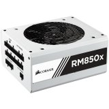 Enthusiast Series RM850x White Color Power Supply, Fully Modular 80 Plus Gold 850 Watt, EU Version