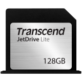 TRANSCEND Flash Card, JetDrive Lite, 128GB, for MacBook Pro (Retina) 15', Mid 2012, Early 2013, MLC flash, R/W: 95/60 MB/s