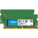 Crucial DRAM 16GB Kit (8GBx2) DDR4 2400 MT/s (PC4-19200) CL17 SR x8 Unbuffered SODIMM 260pin  for Mac, EAN: 649528783318