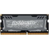 Crucial DRAM 8GB DDR4 2400 MT/s (PC4-19200) CL16 SR x8 Unbuffered SODIMM 260pin Ballistix Sport LT DDR 4 SODIMM - Grey, EAN: 649528778468