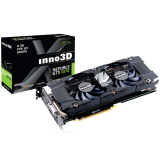 Inno3D Video Card GeForce GTX 1070 Twin X2 8GB GDDR5 256-bit 1506 8Gbps Dual DVI+DP+HDMI