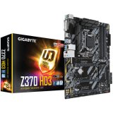 GIGABYTE Main Board Desktop INTEL Z370 (Socket, 4xDDR4, HDMI,DVI-D, 1xPCIEX16/2xPCIEX4/3xPCIEX1, USB3.1/USB2.0, 6xSATAIII/RAID/1x M.2socket3, LAN) ATX retail