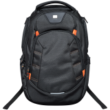 CANYON Backpack for 15.6' laptop, black (Material: 1680D Polyester)