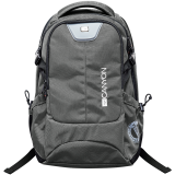 CANYON Backpack for 15.6' laptop, dark gray (Material: 840D Nylon)