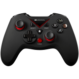 CANYON 2.4G Wireless Controller 4in1 PC/PS3/Android/XboxOne, High precision 3D, dual trigger, 600mAh Li-Poly battery, rubberized surface and vibration feedback