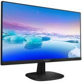 Monitor LED Philips 243V7QJABF/00, V-Line, 23.8'' 1920x1080@60Hz, 16:9, IPS, 5ms, 250nits, Speakers 2W, Black, 3 Years, VESA100x100/VGA/HDMI/DP/