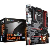Gigabyte Gaming Main Board Desktop AORUS Intel Z370 (RGB Fusion, 4 DIMMs, 2xM.2, RealtekÂŽ ALC1220, IntelÂŽ GbE LAN, USB 3.1 gen 2 Type-C, HDMI,DVI-D ) ATX