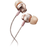 CANYON Stereo earphones with microphone, metallic shell, 1.2M, rose