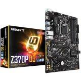 GIGABYTE Main Board Desktop INTEL Z370 (Socket, 4xDDR4, HDMI, 1xPCIEX16/2xPCIEX4(16)/3xPCIEX1, USB3.1/USB2.0, 6xSATAIII/RAID/1x M.2socket3, LAN) ATX retail