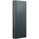 CANYON Power bank 13000mAh built-in Lithium-ion battery, max output 5V2.4A, input 5V2A. Dark Gray