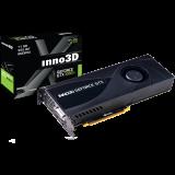 Inno3D Video Card GeForce GTX 1080 Ti Jet 11GB GDDR5X 352-bit 1480 11Gbps DVI+3xDP+HDMI