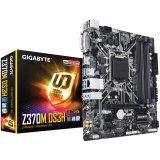 GIGABYTE Main Board Desktop INTEL Z370 (Socket LGA1151, 4xDDR4, HDMI,DVI-D, 1xPCIEX16/2xPCIEX1, USB3.1/USB2.0, 6xSATA III/M.2socket3/RAID, LAN) mATX retail