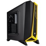 Corsair Carbide Series SPEC-ALPHA Mid-Tower Gaming Case — Black/Yellow
