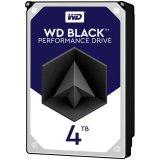 HDD Desktop WD Black (3.5', 4TB, 256MB, 7200 RPM, SATA 6 Gb/s)