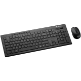 CANYON Multimedia 2.4GHz wireless combo-set, keyboard 104 keys, slim and brushed finish design, chocolate key caps, AD layout (black); mouse adjustable DPI 800/1200/1600, 3 buttons (black). 450*154*22.3mm(KB)/98.7*63.3*34mm(MS), 0.55kg