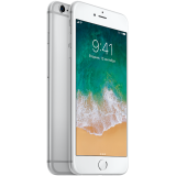 Apple iPhone 6s Plus 64GB Silver (5.5-inch, Retina HD display, Optical image stabilization, Taptic Engine, 1920x1080 at 401 ppi, 3D Touch, A9/M9 chip, iOS 9, 12MP iSight)-SE