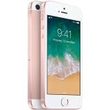 Apple iPhone SE 64GB Rose Gold (4-inch, Retina display, LED‑backlit widescreen Multi‑Touch display, 1136‑by‑640‑pixel resolution at 326 ppi, A9/M9 chip, iOS 9, 12MP iSight,4K video recording, FaceTime HD 1.2MP, Touch ID)