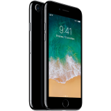 Apple iPhone 7 128GB Jet Black (4.7-inch, Retina HD display, Multi-Touch display with IPS technology, 1334x750 at 326 ppi, EarPods, 3D Touch, A10/M10 chip, Apple iOS 10, 12MP iSight, FaceTime HD Camera 7MP, LTE) Splash, Water and Dust Resistant