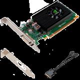 PNY Video Card NVS 315 x16 LowProfile, DVI, ATX bracket mounted, PCI-Express x16, ATX, 1 GB GDDR3 64-bit, DSM59, Dual Display Port, CD, Installguide, DMS59 to Dual DP adapter, half-size bracket