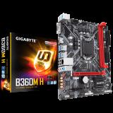 Gigabyte Main Board Desktop B360 (S1151, 2xDDR4, HDMI, VGA, 1xPCIex16, 1xPCIex1, Realtek 8118, 4xSATA III, M.2, USB 3.1, USB 2.0) mATX Retail