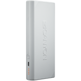 CANYON Power bank 10000mAh built-in Lithium-ion battery, max output 5V2.4A, input 5V2A. White